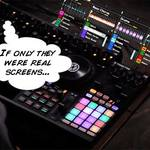 IDEA: Mini screens for DJs