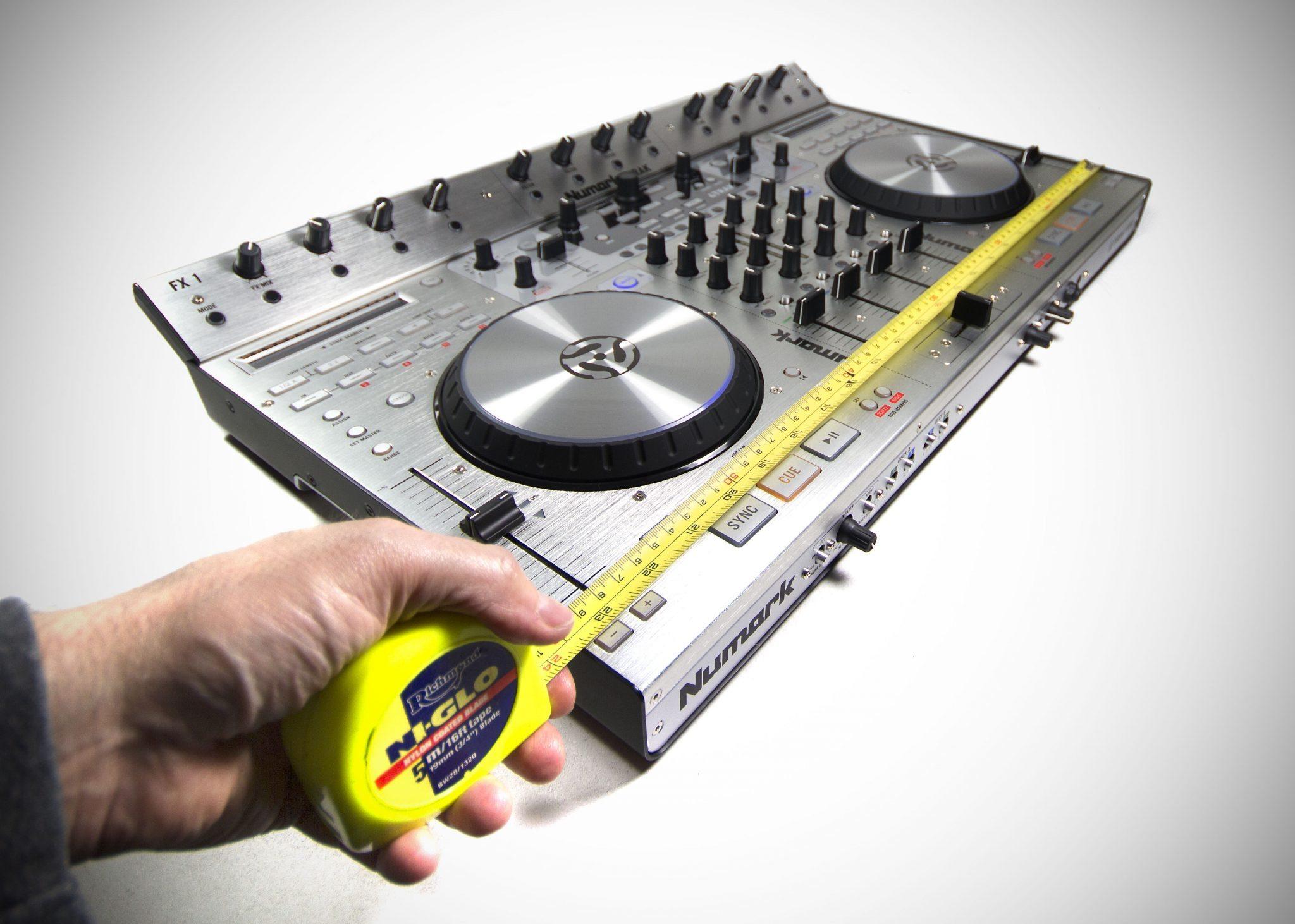 Numark 4Trak DJ Controller ReviewNumark 4trak Case