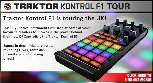 Kontrol F1 UK Tour – at a retailer near you