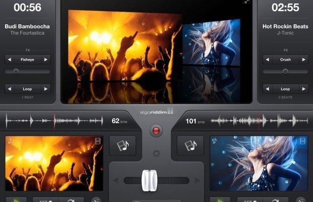 algoriddim vjay – video mixing for iPad