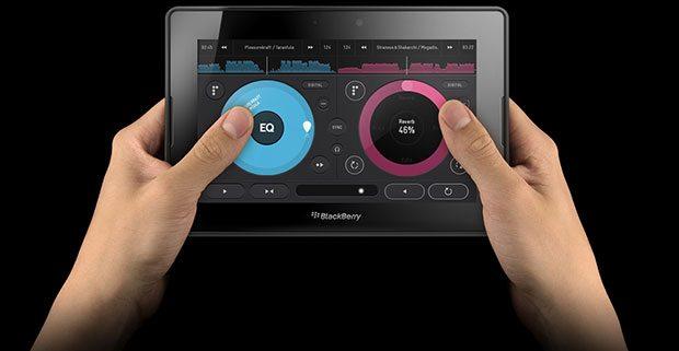 Pacemaker App BlackBerry Playbook