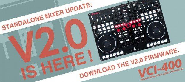 Vestax VCI-400 mixer firmware