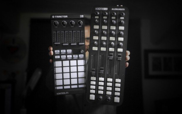 Allen & Heath Xone:K2 vs Native Instruments Traktor Kontrol F1review