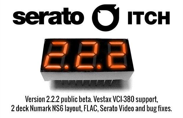 Serato Update 2: ITCH v2.2.2 Public beta