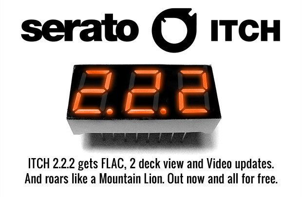 Serato itch 222 released