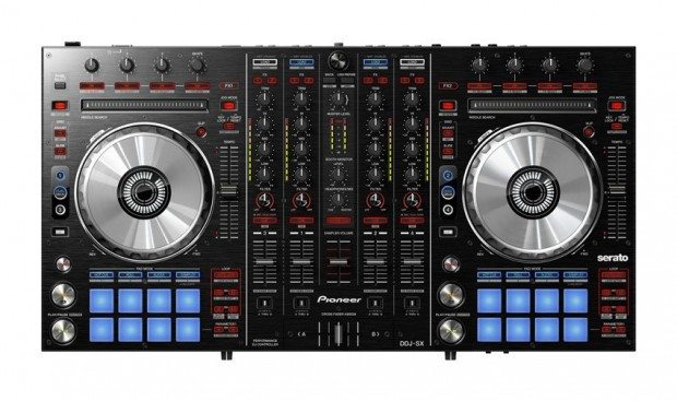 Pioneerr DDJ-SX Serato DJ Controller (2)