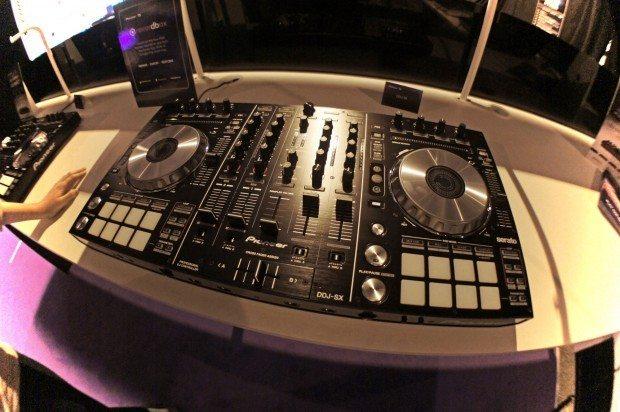 Pioneer ddj-sx BPM show 2012