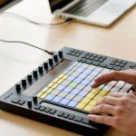 Ableton Push  hardware to harness Live 9