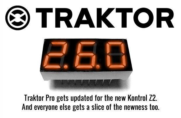 Traktor Pro 2.6 upgrade