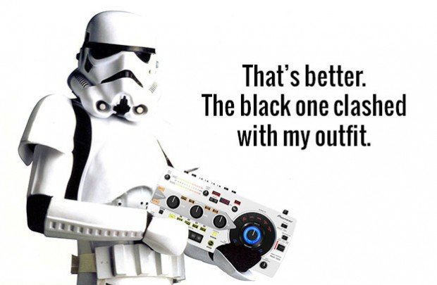 Pioneer RMX-1000 in white — Stormtrooper chic
