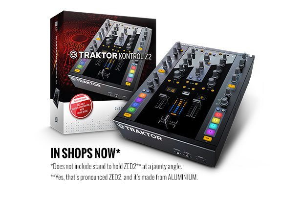 Native Instruments Traktor Kontrol Z2 in stores now released