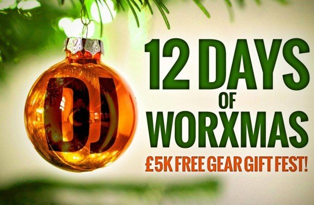 djworx 12 days of worxmas DJ giveaway