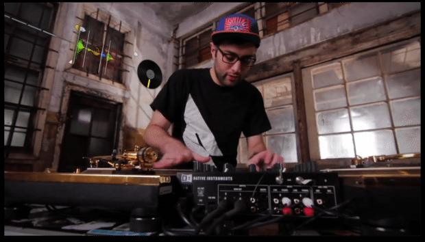 DJ Shiftee in Total Kontrol Z2 Maschine