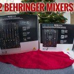  On the 8th day of Worxmas, we gave away for free 2 BEHRINGER MIXERS! 