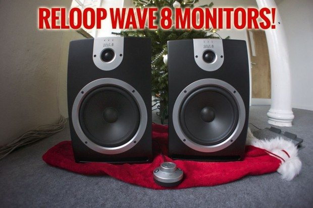 reloop wave 8 monitors
