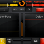 MixVibes Cross hits the iPhone