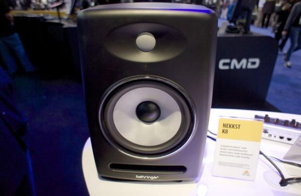 NAMM 2013: Behringer NEKKST K5 and K8 Studio Monitors