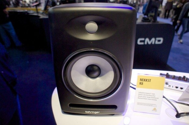 Behringer NEKKST K5 K8 KRK monitors speakers NAMM 2013 (1)