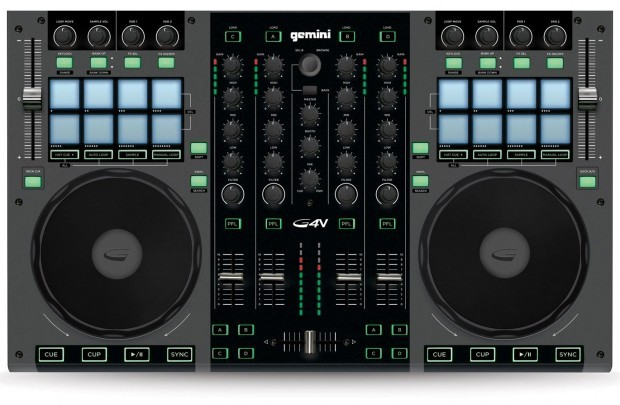Gemini G4V virtual DJ controller NAMM 2013