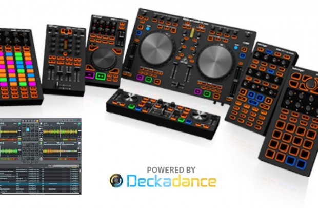 Behringer CMD controllers NAMM 2013 Deckadance v2