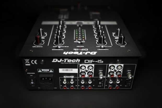 DJ Tech DIF-1S Scratch Mixer with mini innofader (3)