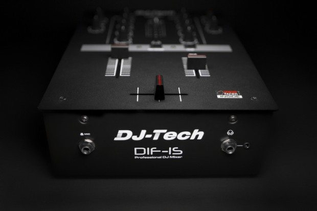 DJ Tech DIF-1S Scratch Mixer with mini innofader (2)