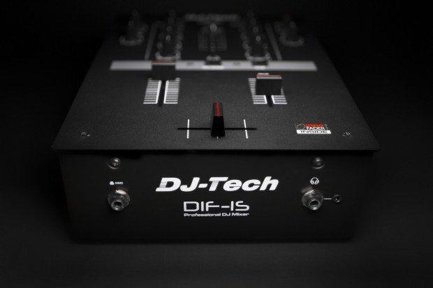 DJ Tech DIF-1S Scratch Mixer with mini innofader (2)