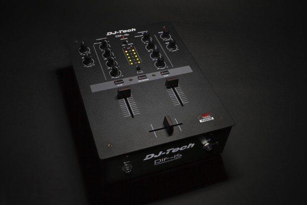 DJ Tech DIF-1S Scratch Mixer with mini innofader (1)