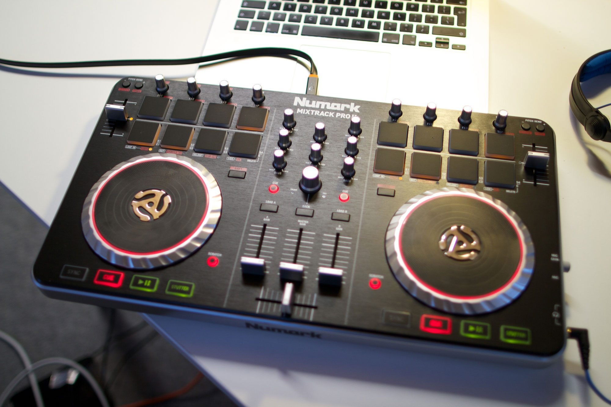 Mixtrack Pro II 2 Channel DJ Controller with Audio I O