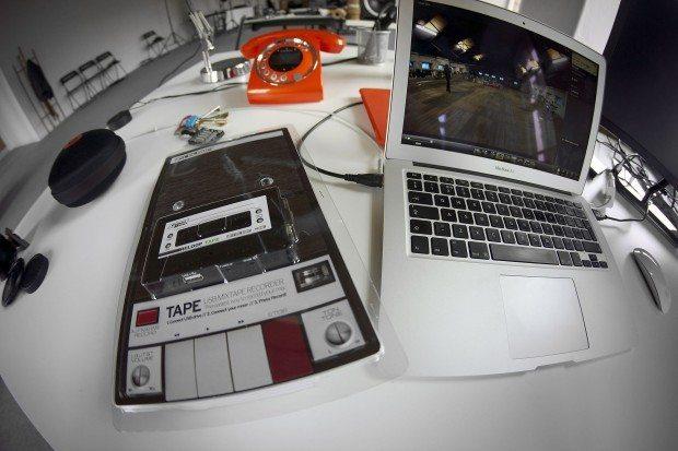 reloop tape audio recorder in stores now