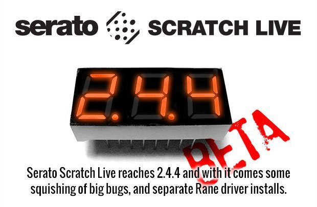 Serato Scratch Live 2.4.4 beta