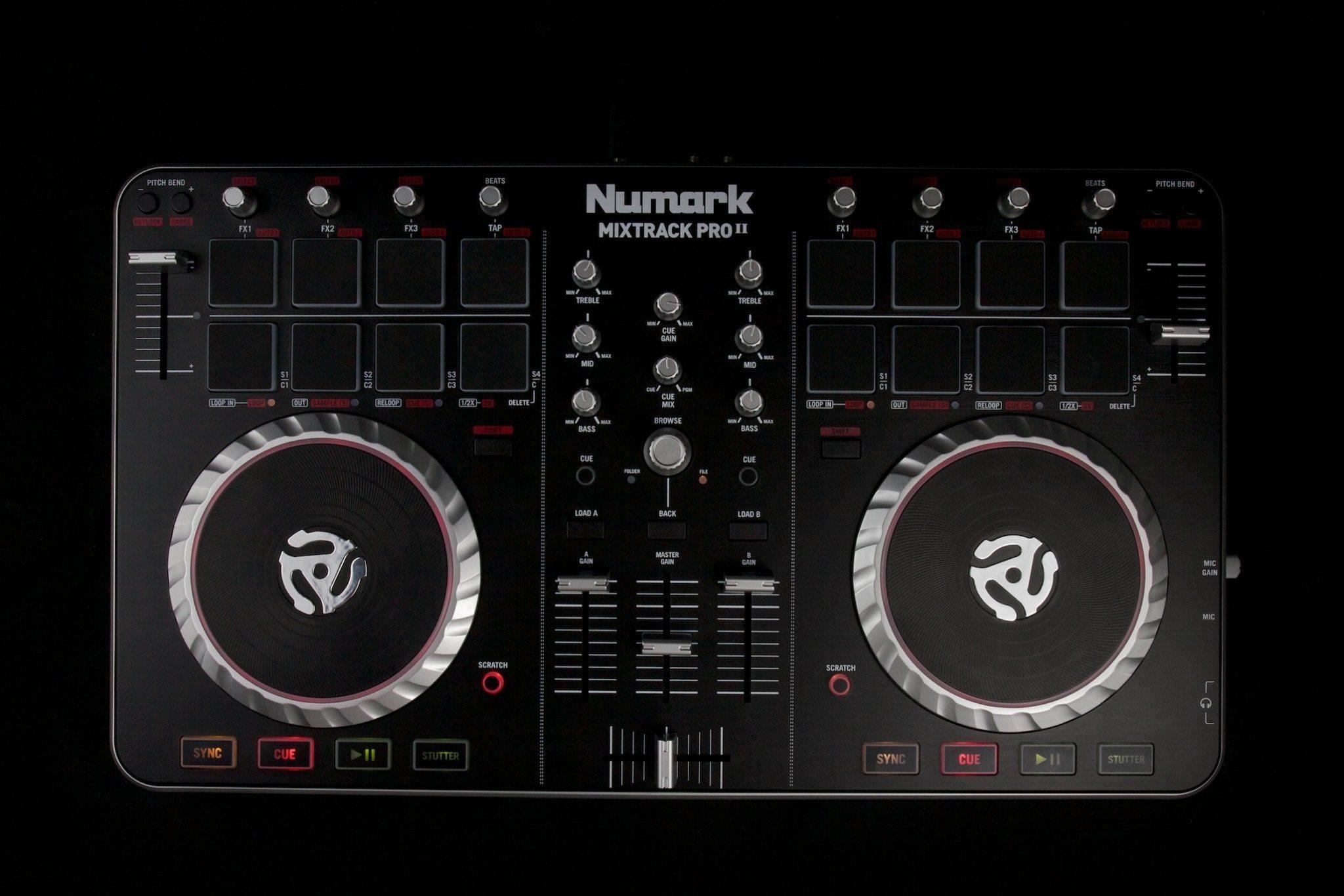 REVIEW: Numark Mixtrack Pro II DJ Controller   DJWORX on numark mixtrack pro scratching, numark mixtrack vs mixtrack pro, numark mixtrack pro pitch bend, numark mixtrack pro software,