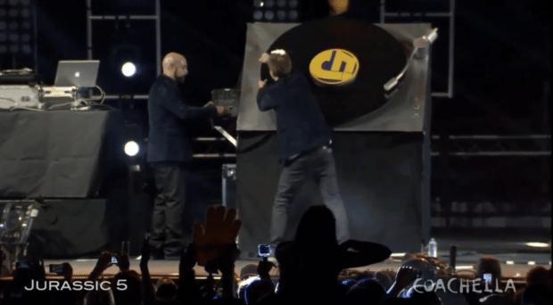 Coachella Jurassic 5 DJ Nu-Mark Cut Chemist