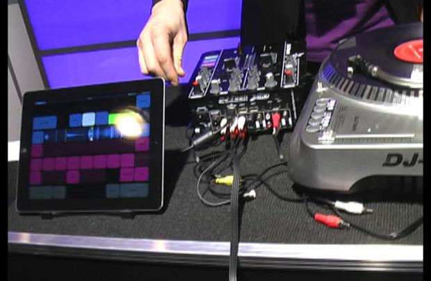 Musikmesse 2013: DJ Player 6 Beta — DVS on an iPad