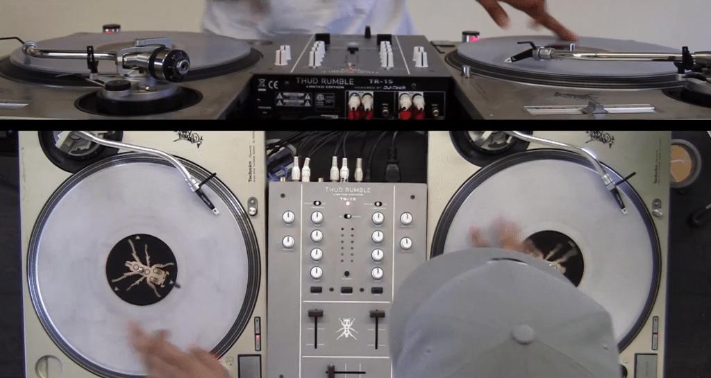 Thud Rumble TR-1s DJ Traps Scratch Mixer DJ Tech