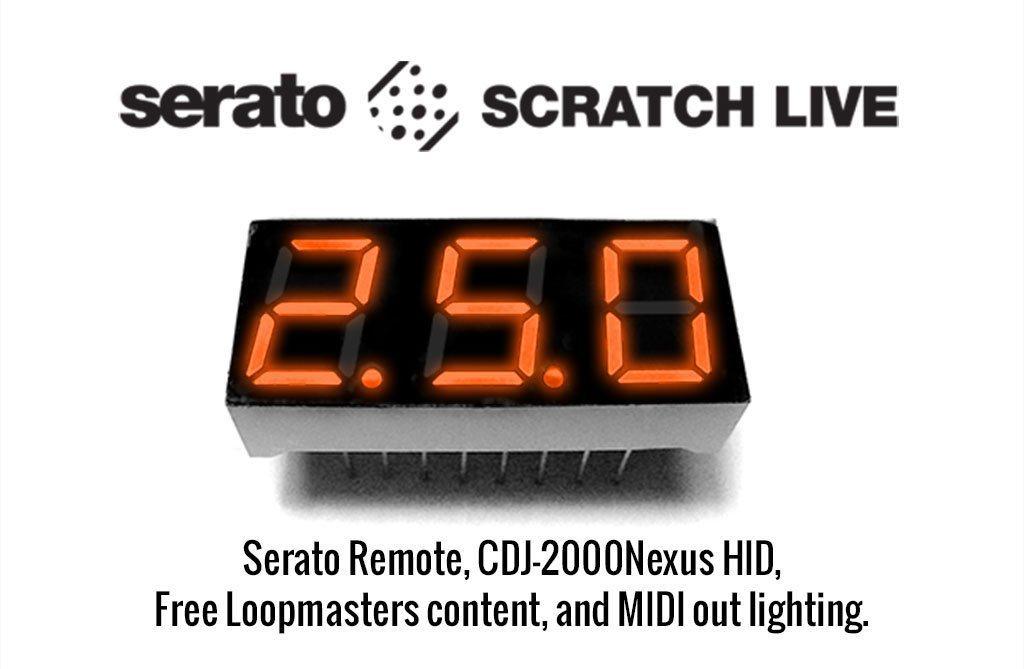 Serato scratch 2.5