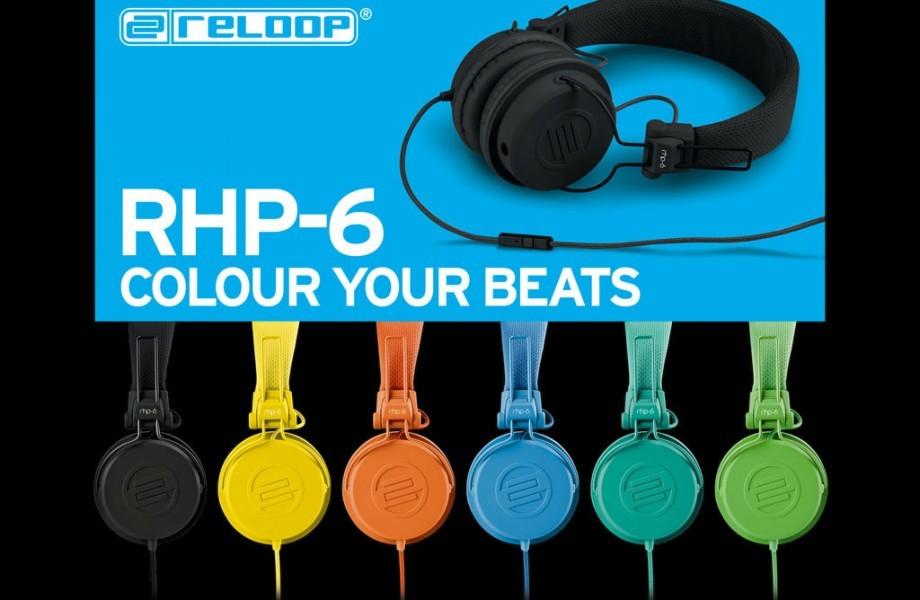 Reloop goes lifestyle: The RHP-6 headphones