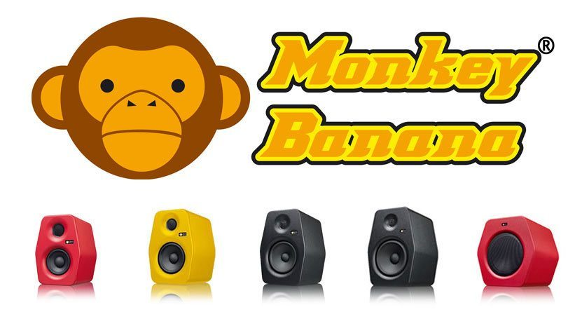 Monkey Banana monitors — now in the UK