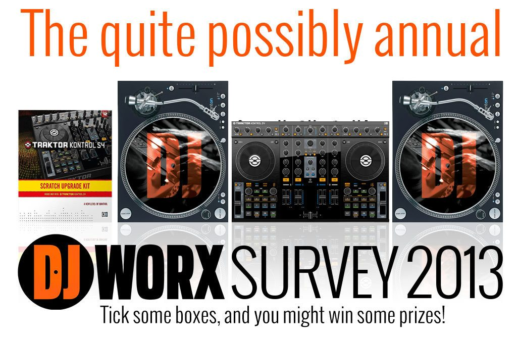 DJWORX survey 2013 win dj gear