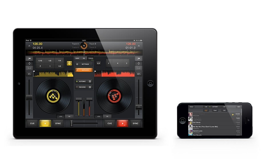 Mixvibes Cross DJ for iOS 1.3 — now with automix and autogain