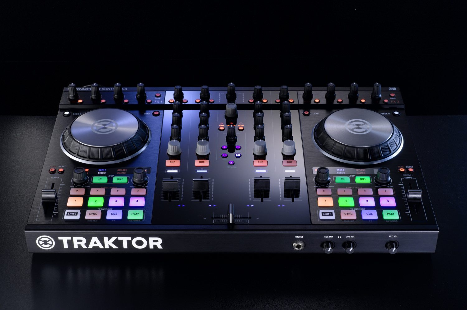 Ni Updates Traktor Kontrol S2 And S4 Exclusive Pics