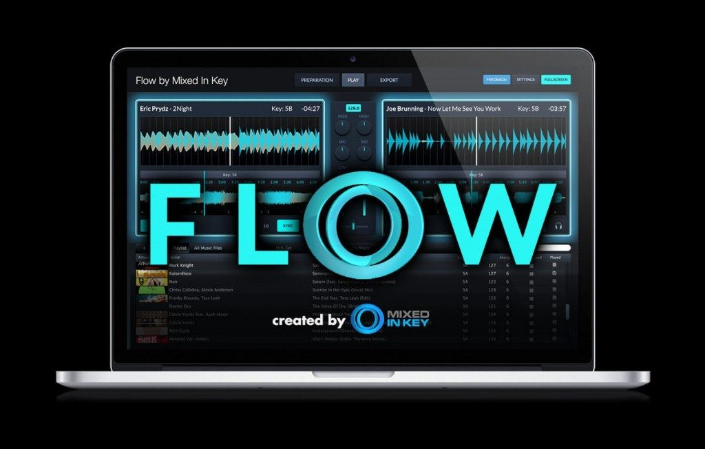 mixed in key flow dj software