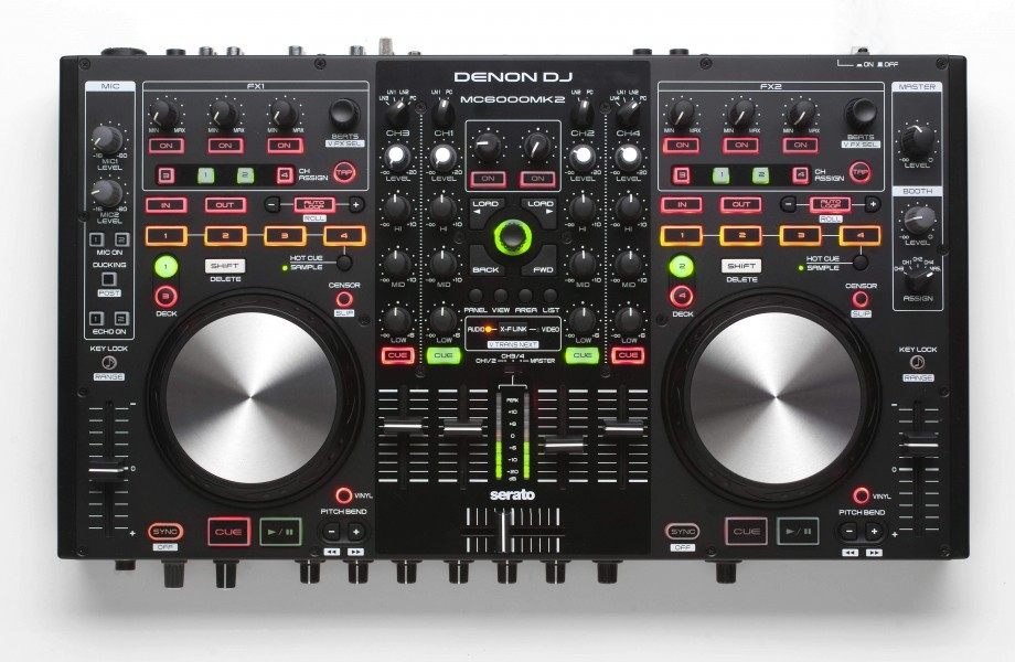 Evolved: Denon DJ MC6000MK2 — Serato ready