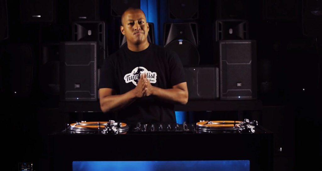 DJ Angelo Reloop rp-8000 turntable demo