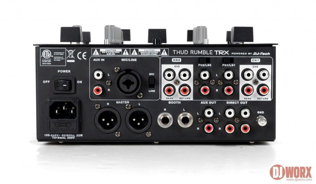 NAMM 2014 DJ Tech Thud Rumble TRX mixer Qbert (4)