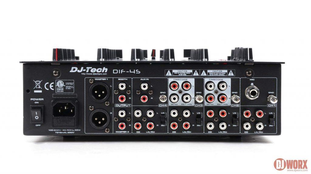 NAMM 2014 DJ Tech DIF-4S 4 channel mixer (6)
