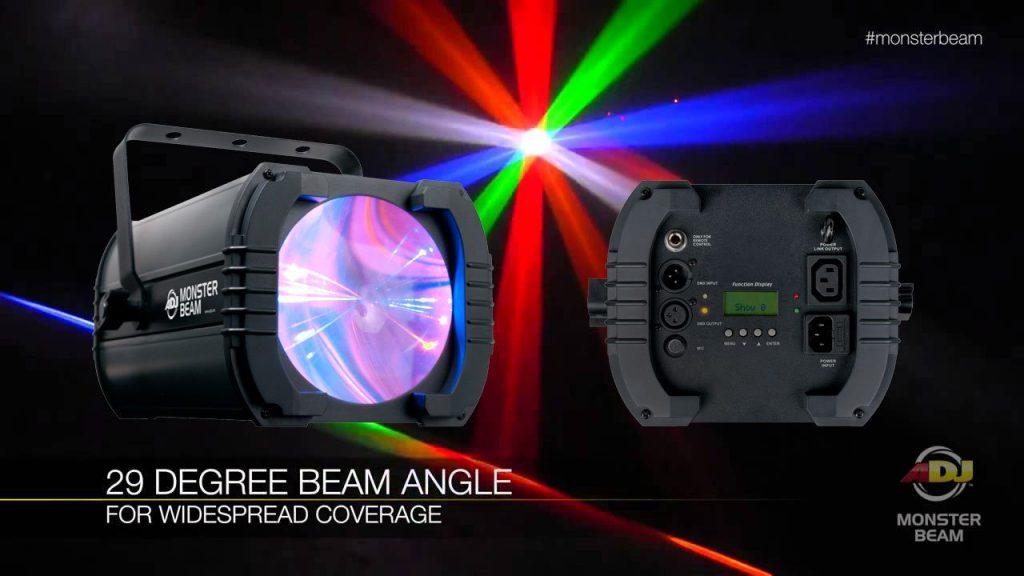 adj monster beam moonflower LED DJ lighting