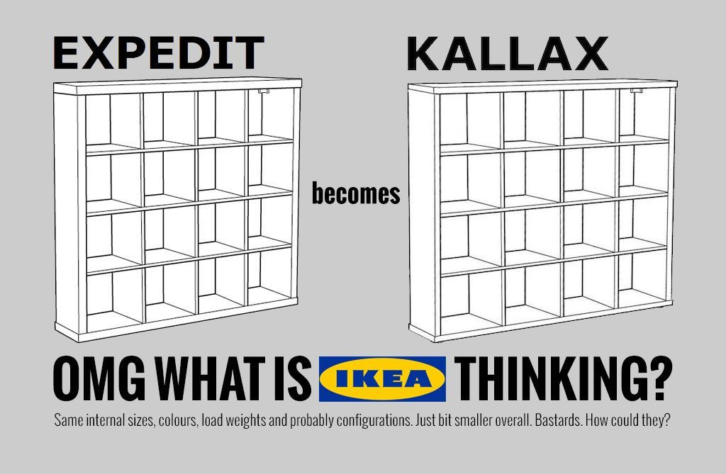 ikea expedit kallax comparison