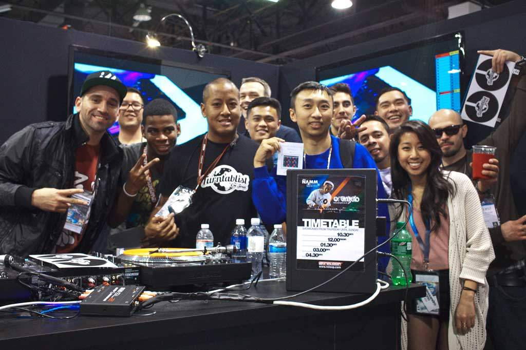 namm dj people