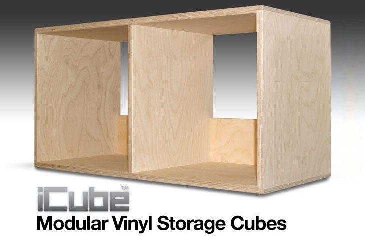 i-cube vinyl shelving storage